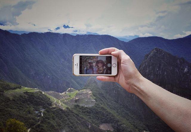 Hiking around Macchu Picchu, view from the Sun Gate. . . . . #sungate #macchupicchu #peru #travel #fujifilm #fujifilmx100f #wanderlust #wanderer #hiking