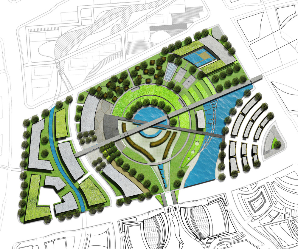 Urban design hanin khasru for Site plan design