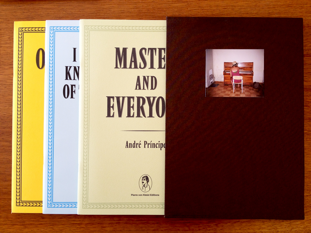 Andre Principe trilogy  Special Edition in a slipcase.