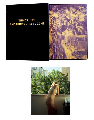 "Things here and things still to come ,  by Jose Pedro Cortes. Special Edition with 21x28 cm inkjet print ""  Emanuel at the Balcony"", signed and numbered by the author, in a  clamshell box. Limited edition of 100 copies."