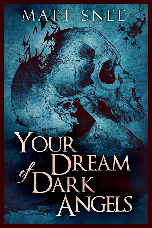 "The time is near. My new book, ""Your Dream of Dark Angels"" will be released very soon! I'm very excited about this one, it's been a long time coming. Featuring interior illustrations by Gisela Pizzatto, it's sort of a revisionist YA mystery novel. Look forward to it!"