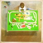 train table.