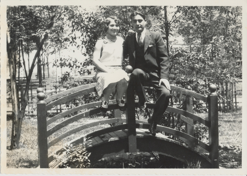 my maternal grandparents, date unknown.