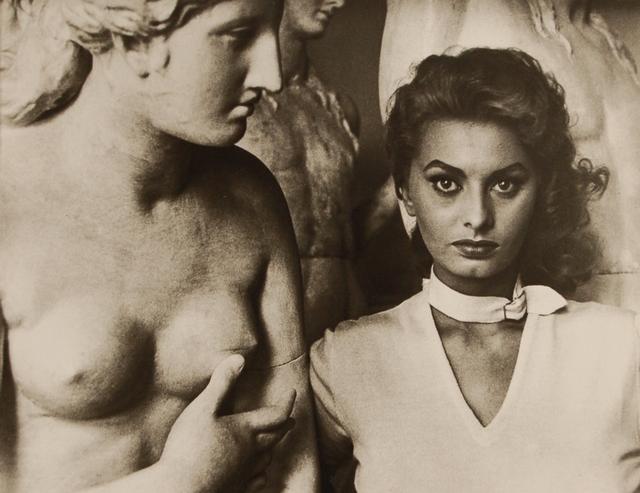 Sophia Lauren, 1955 by George Daniell
