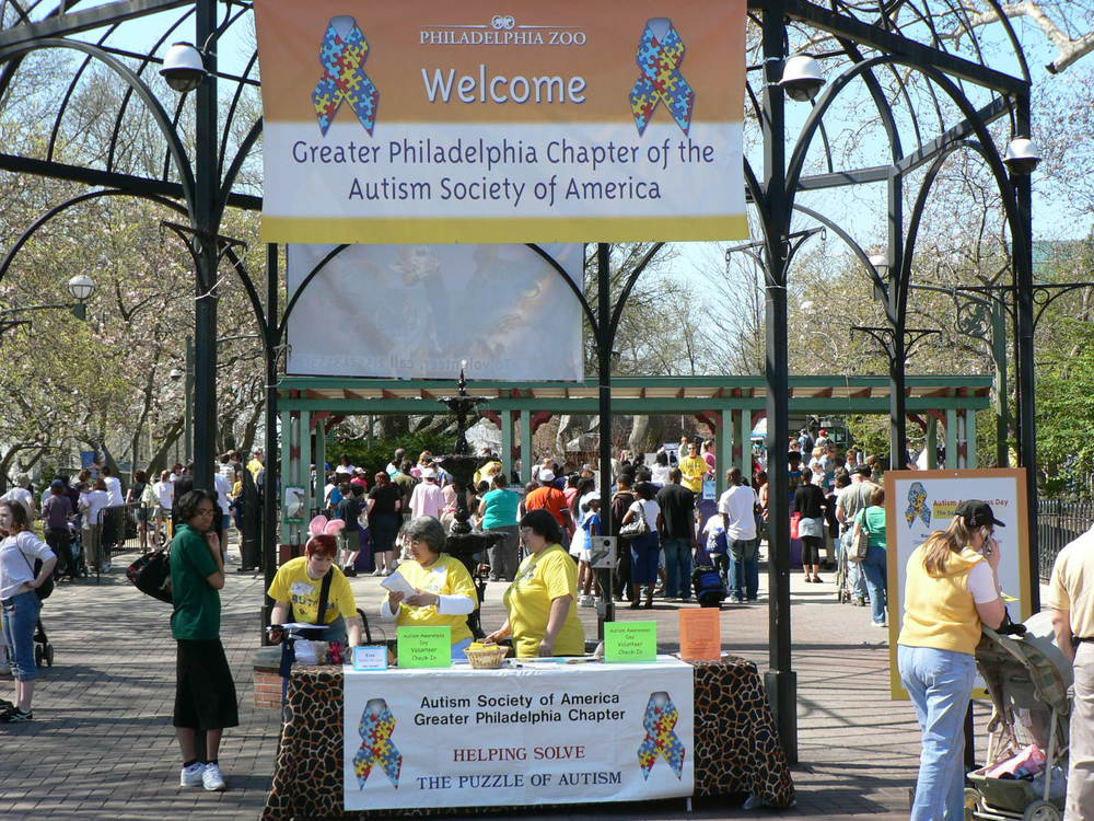 Autism Awareness Day Philadelphia Zoo, 2007.