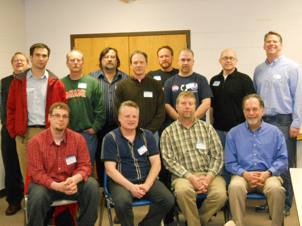 2014, Fathers' Group, Canadigua ARC, NY.