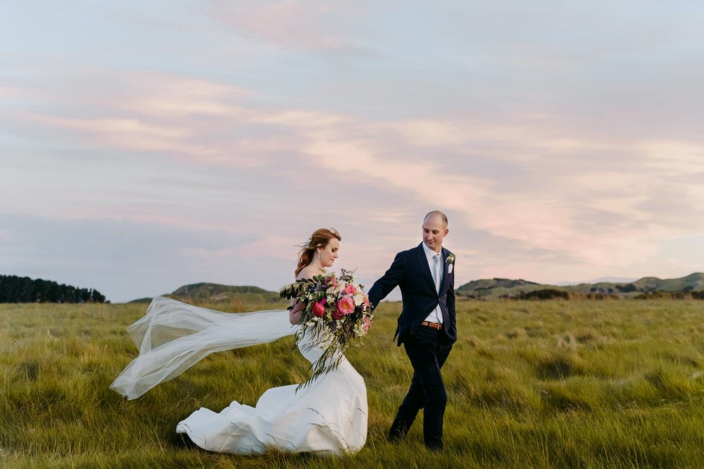 Hawkes Bay Wedding Elopement