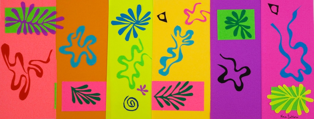 DANCING WITH MATISSE #1