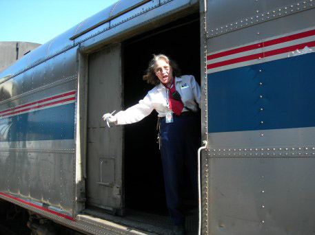 AMTRAK Conductor Laurette Lee