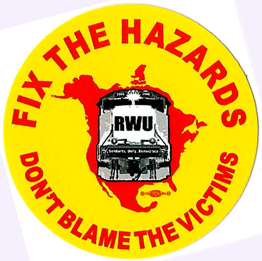 RWU Campaign in Opposition to Behavior Based Safety Programs
