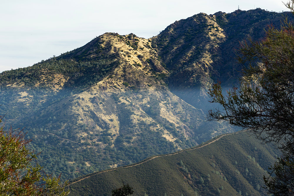 Hike to Eagle Peak - Mount Diablo State Park