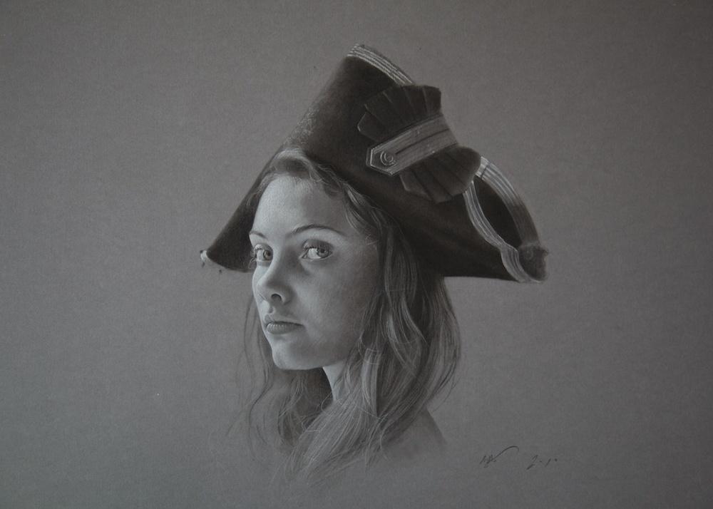 Girl in a Cocked Hat