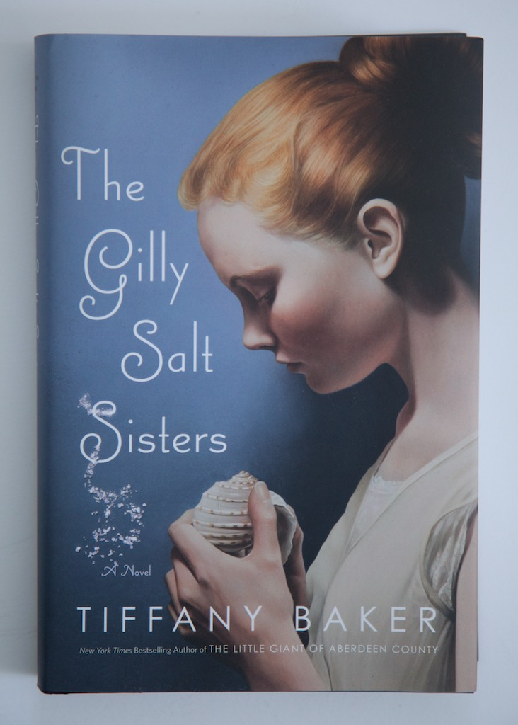 The Gilly Salt Sisters  by Tiffany Baker featuring my painting Hush V