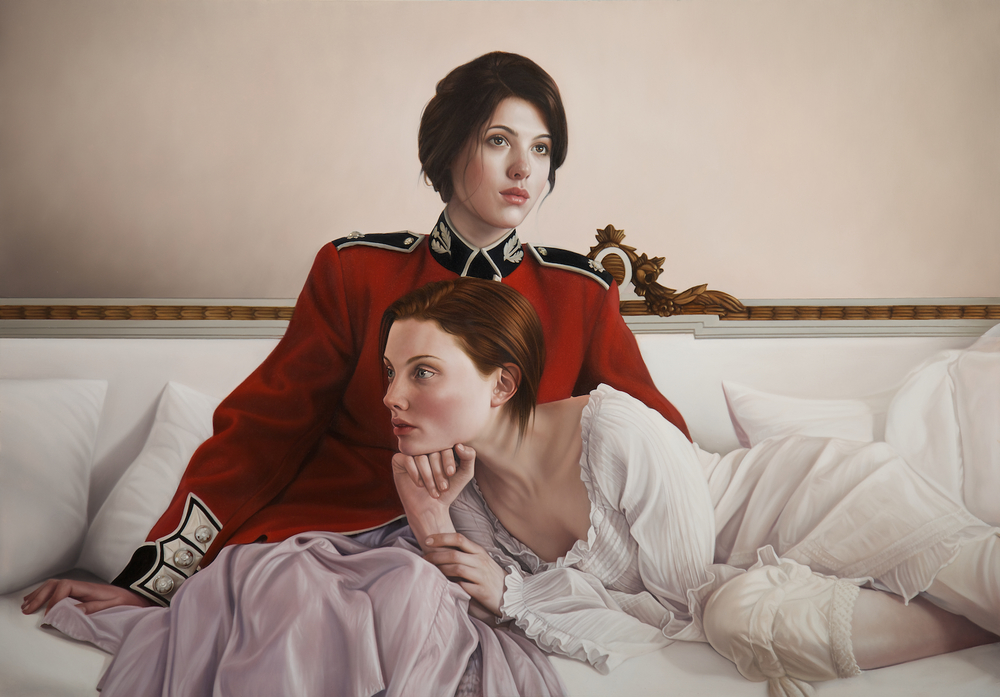 Mary Jane Ansell |hyper realistic paintings