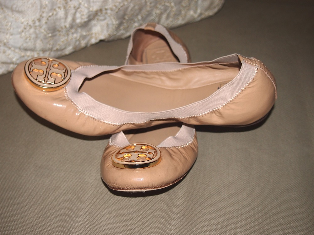 6b32693f9b65 Review of Tory Burch Caroline Elastic Trim Ballerina Flats — My ...