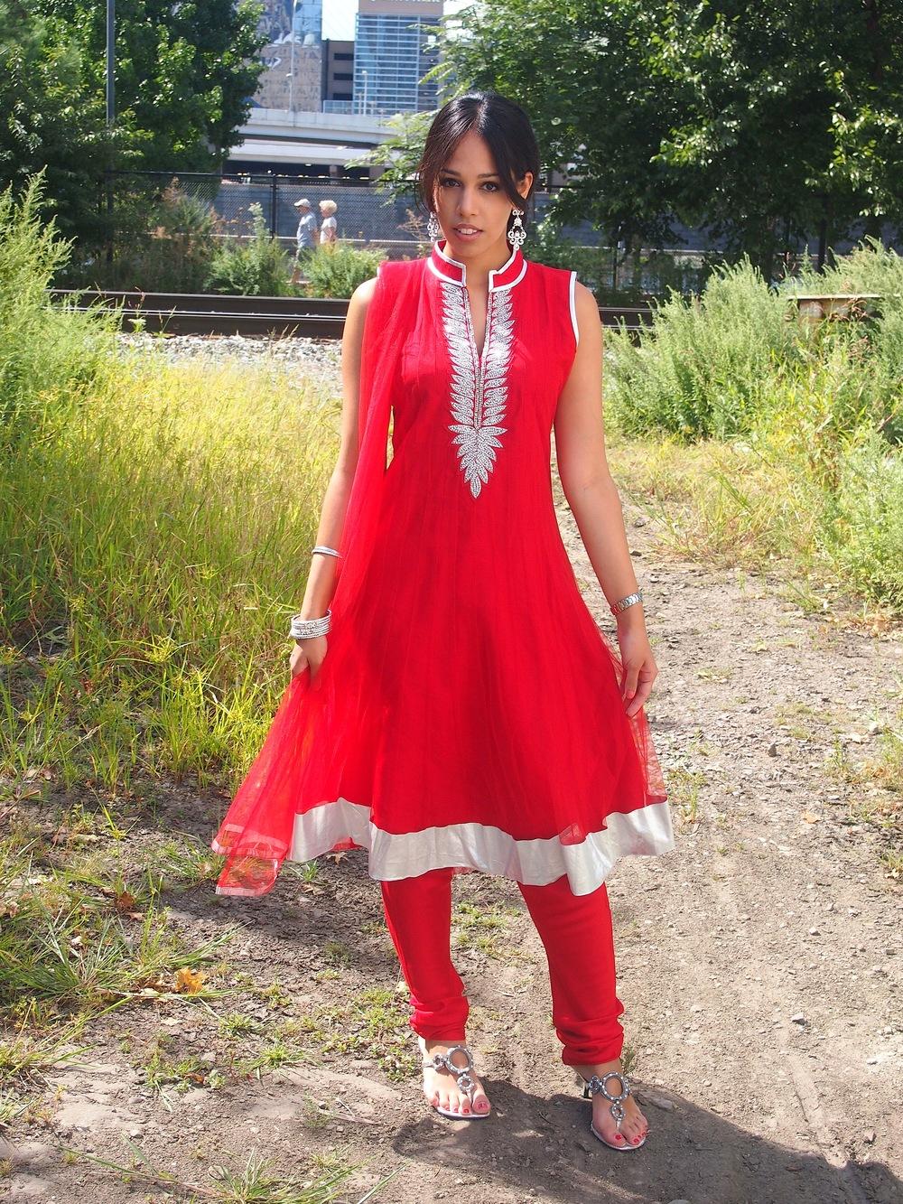 Red Anarkali Suit 2.JPG