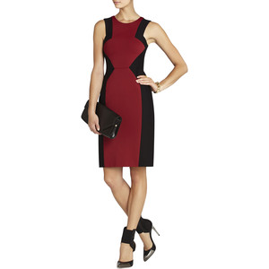 BCBG Evelyn Blocked Sheath Dress.jpeg