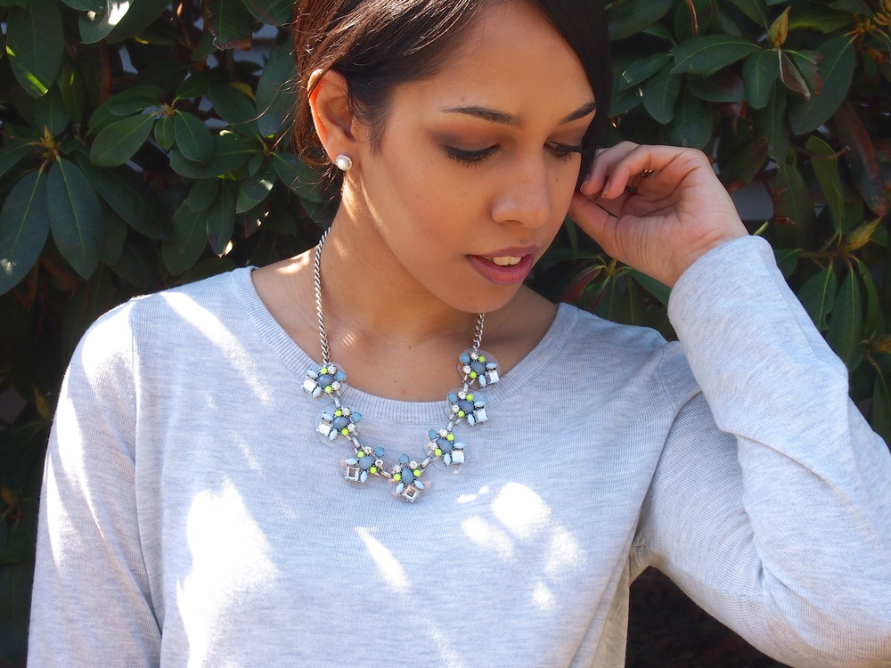 ConnecticutGetaway Spring Statement Necklace
