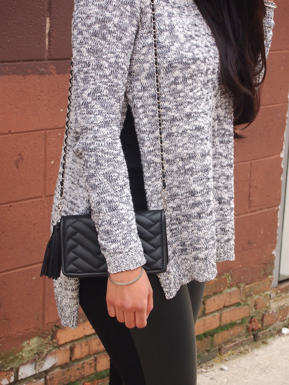 Express High Slit Sweater