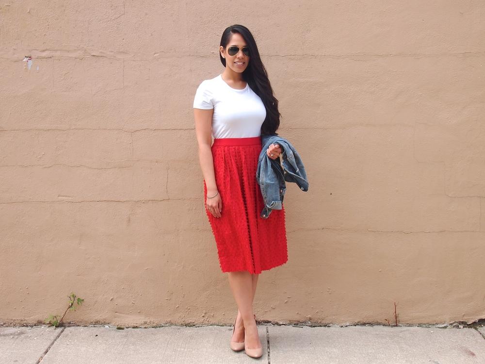 JCrew Midi Skirt