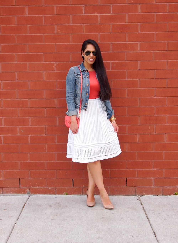 H&M-White-Midi-Skirt
