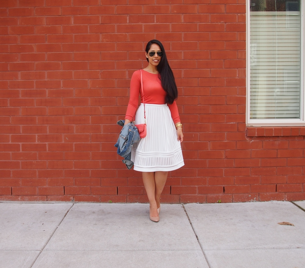 OOTD-H&M-Midi-Skirt