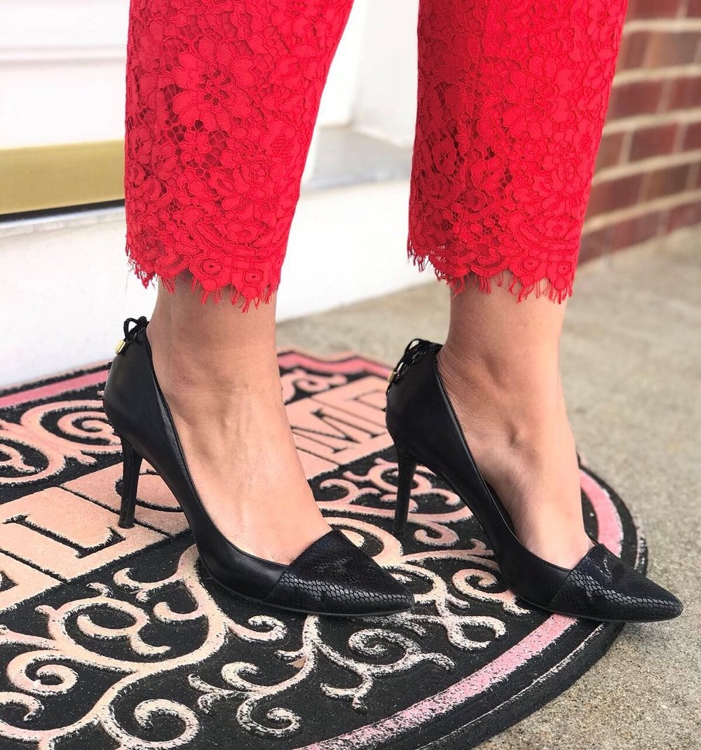 levity-heels-red-lace-pants