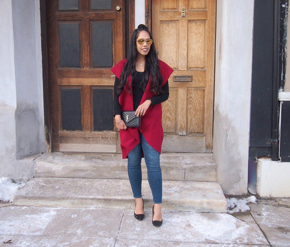 affordable-shawl-collar-vest-SheIn