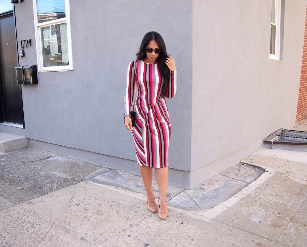 colorful-striped-dress-zara
