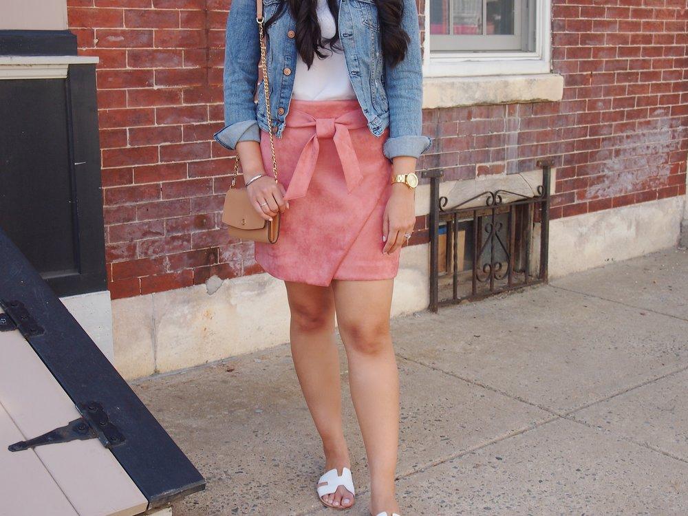 tie-pink-suede-skirt-spring-fashion.JPG