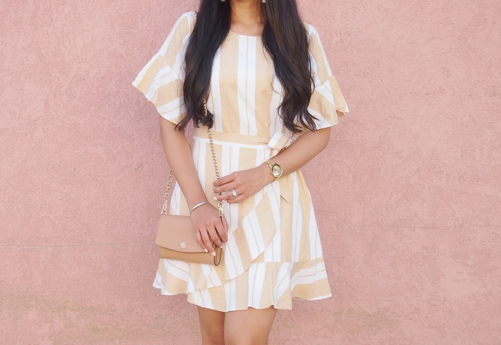 express-striped-wrap-dress-summer-trends-fashion-blogger-mygoldenbeauty.JPG