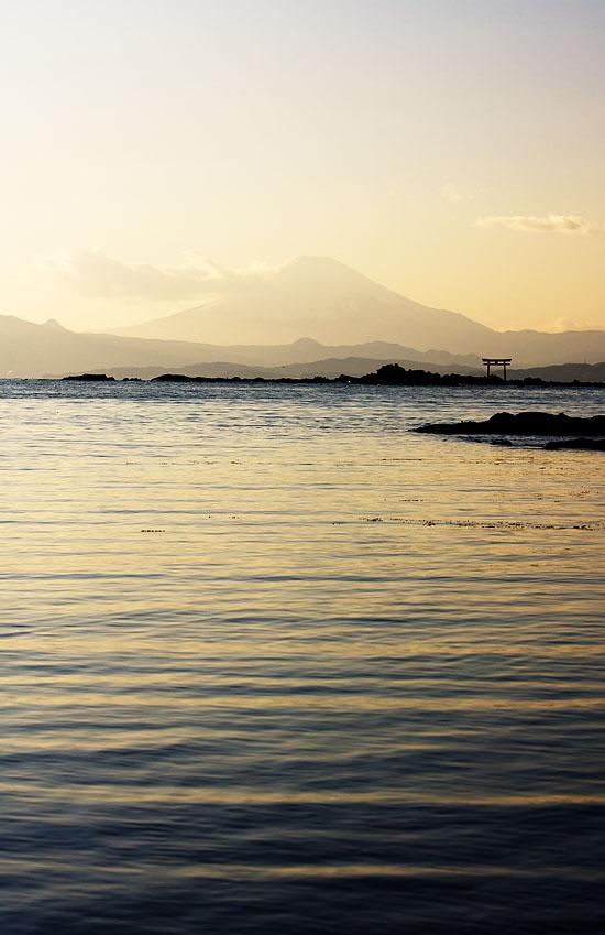 Moody Mt. Fuji