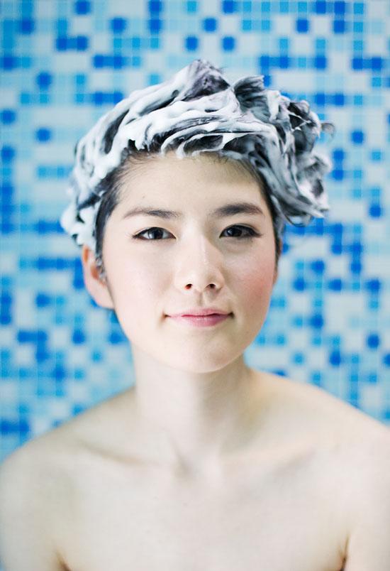 A shampoo portrait