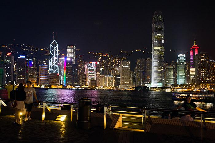 Kickin' it Hong Kong style