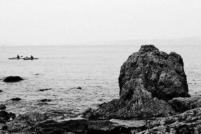 B/W Ocean