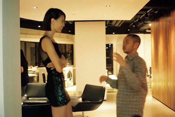 Phuong and me