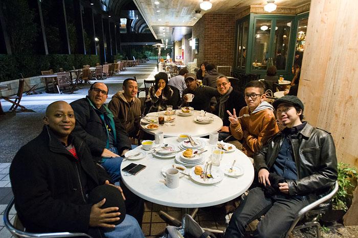 Thanksgiving dinner in Tokyo