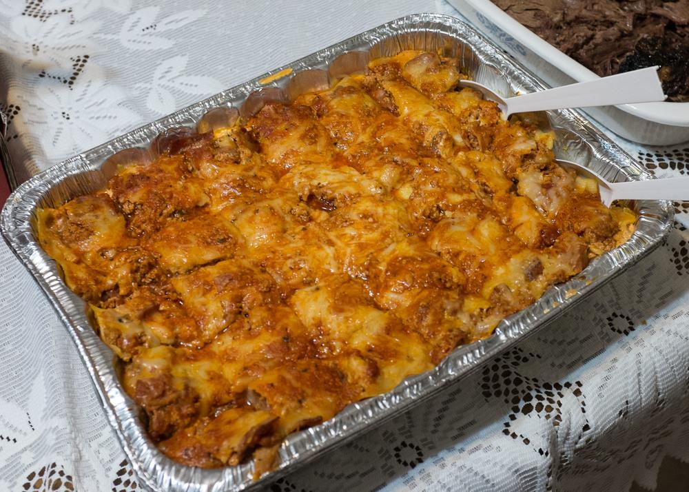 Aunt's lasagne