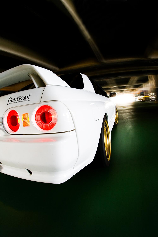 Pentroof R32 GT-R in Tokyo, Japan.