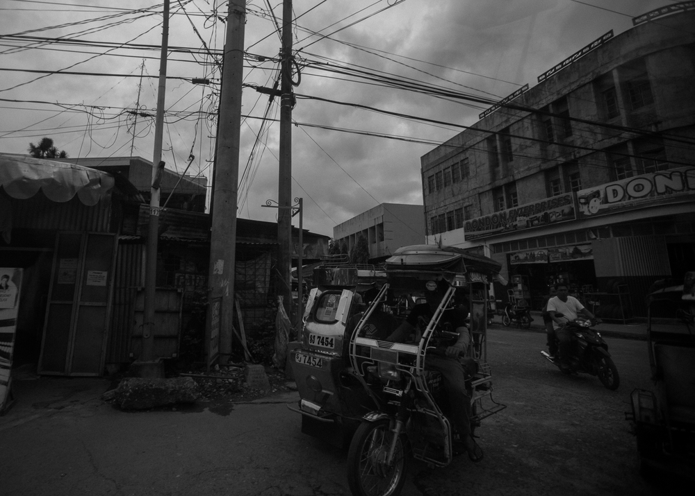 The afternoon commute in Mindoro, Philippines, 2014.