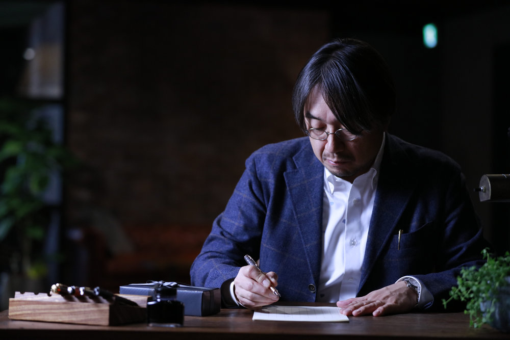 Kundo Koyama shot for Parker Pen