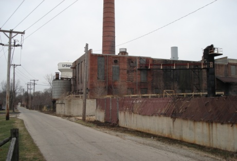 Former Fox River Paper Mill, Urbana, clean up with funding from Clean Ohio Fund