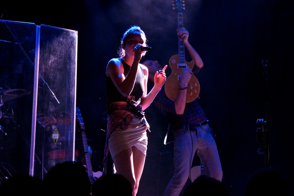 Skylar Grey - Live at Le Poisson Rouge