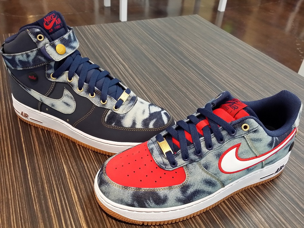 nike air force 1 low acid wash denim release date  f7c44ee7ae