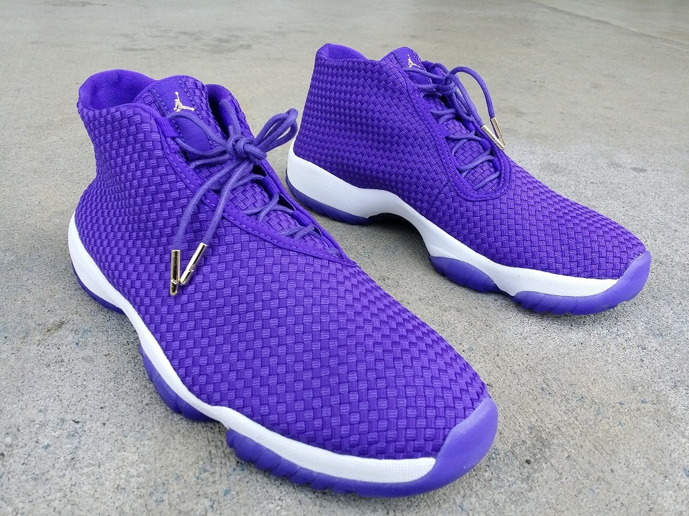 air jordan future purple