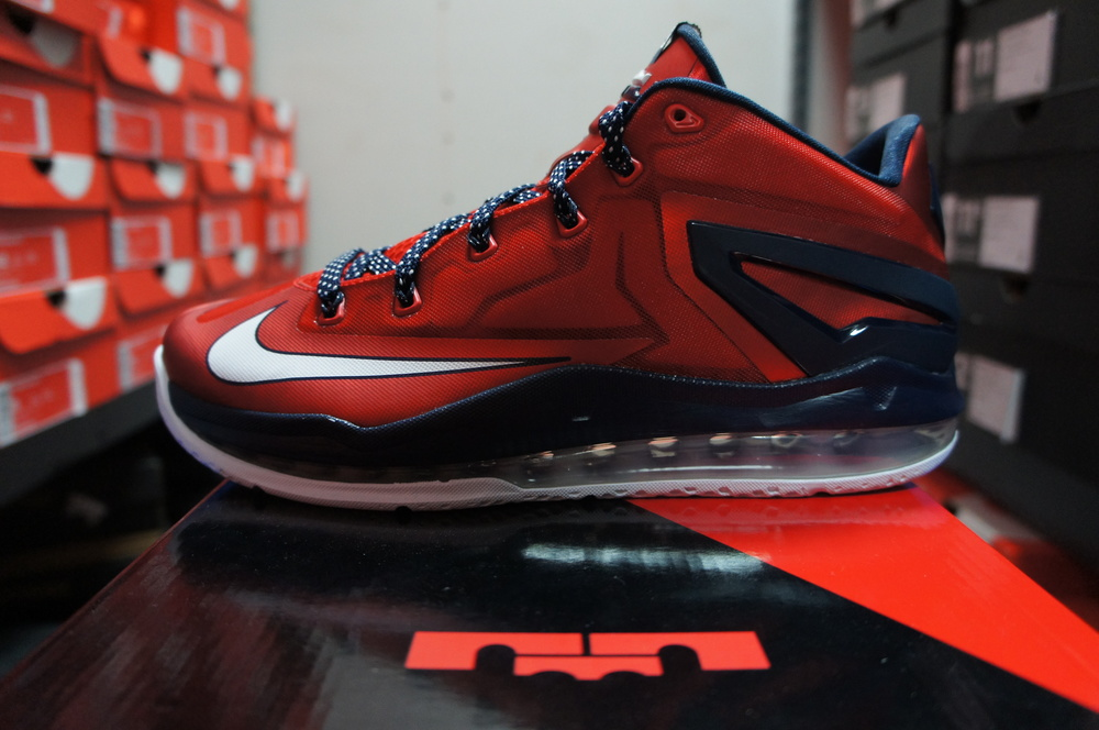 """Nike LeBron 11 Low """"Independence Day"""" — Private"""
