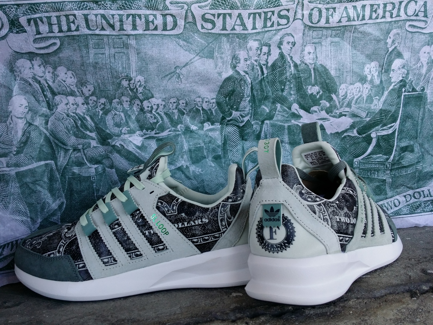 """Wish x Adidas Originals SL Loop Runner """"Independent Currency"""" — PRIVATE 8d43d334b"""
