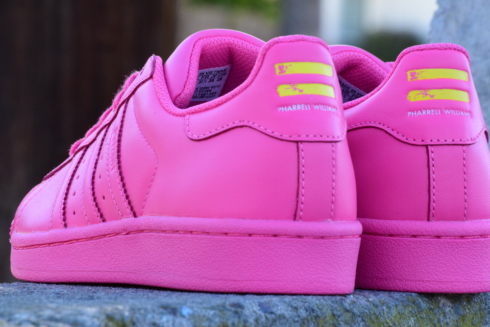Adidas Superstar Pink Pharrell