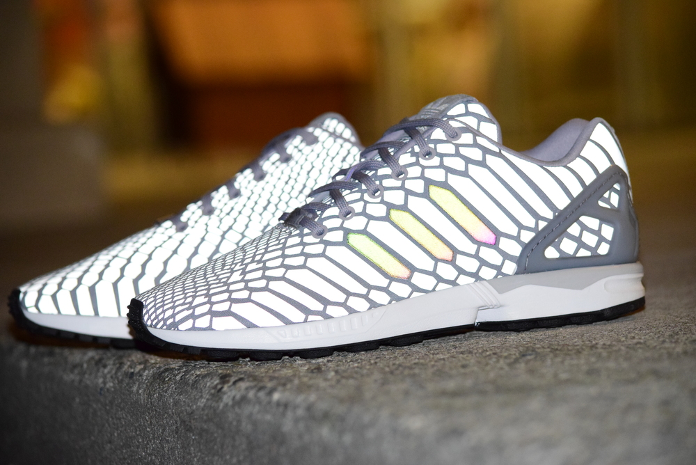 Adidas ZX Flux Xeno Reflective Mens sizes SHIPPING NOW