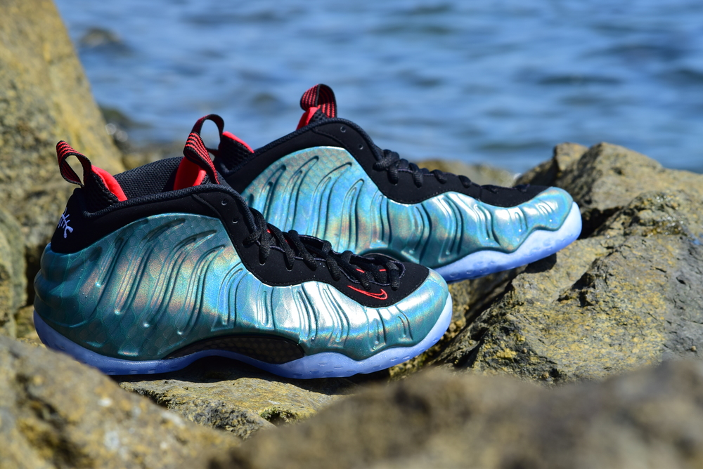 Nike Air Foamposite One PRM Abalone ShoesSize ... Goxip